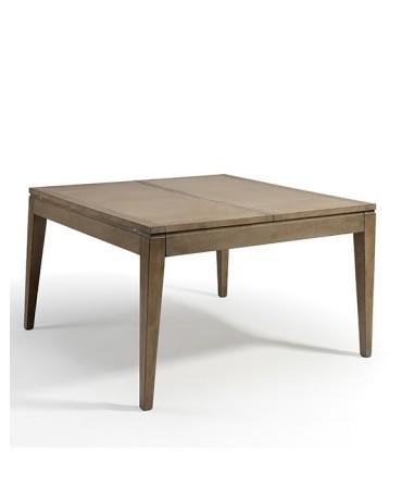 Mesa quadrada extensível